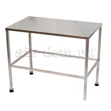 Металлический стол-подставка для сыроварни